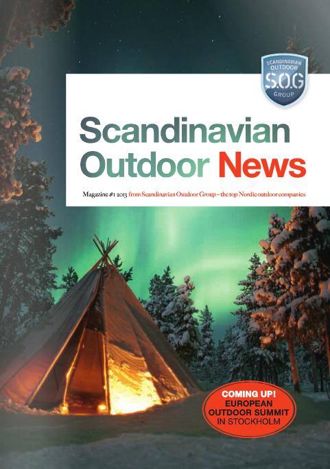 Scandinavian Outdoor News Magazine 2013 Nr. 1
