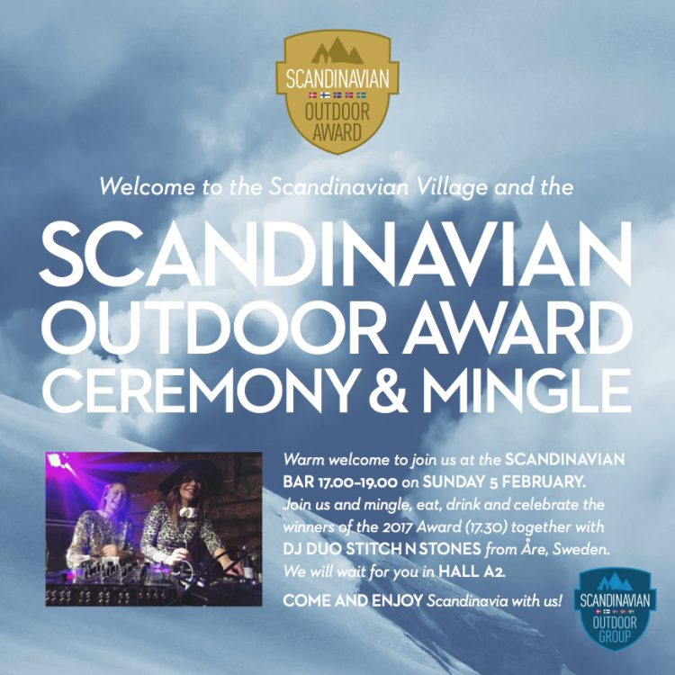 Invitation Scandinavian Village ISPO Munich 2017
