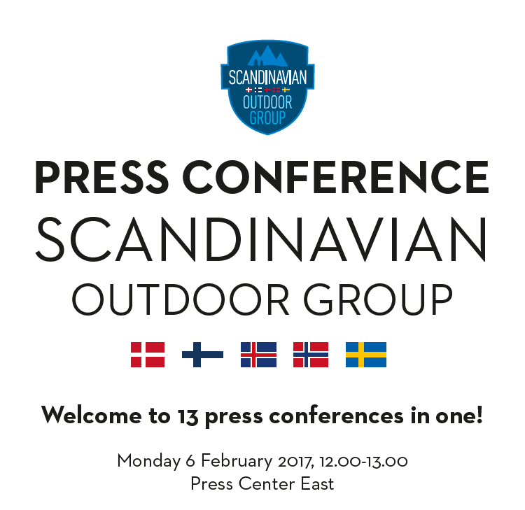 SOG Press Conference at ISPO