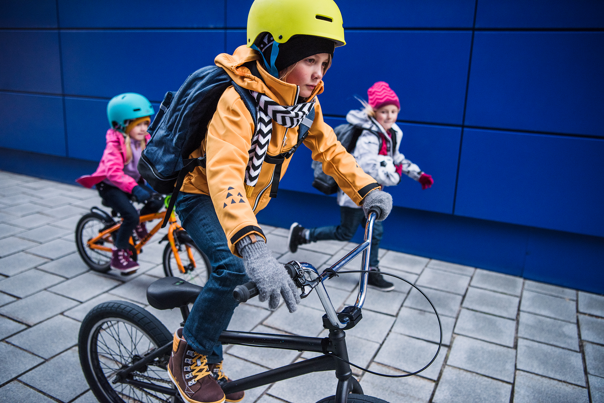 Reima softshell jackets are active kids' favourites
