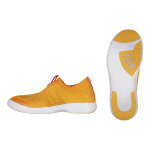Shoes with ventilated sole