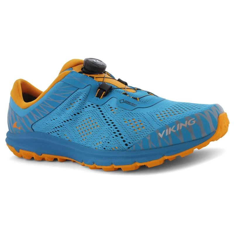 Viking Apex II GTX Men Mountain Running Shoes with Boa-Verschlußsystem Black