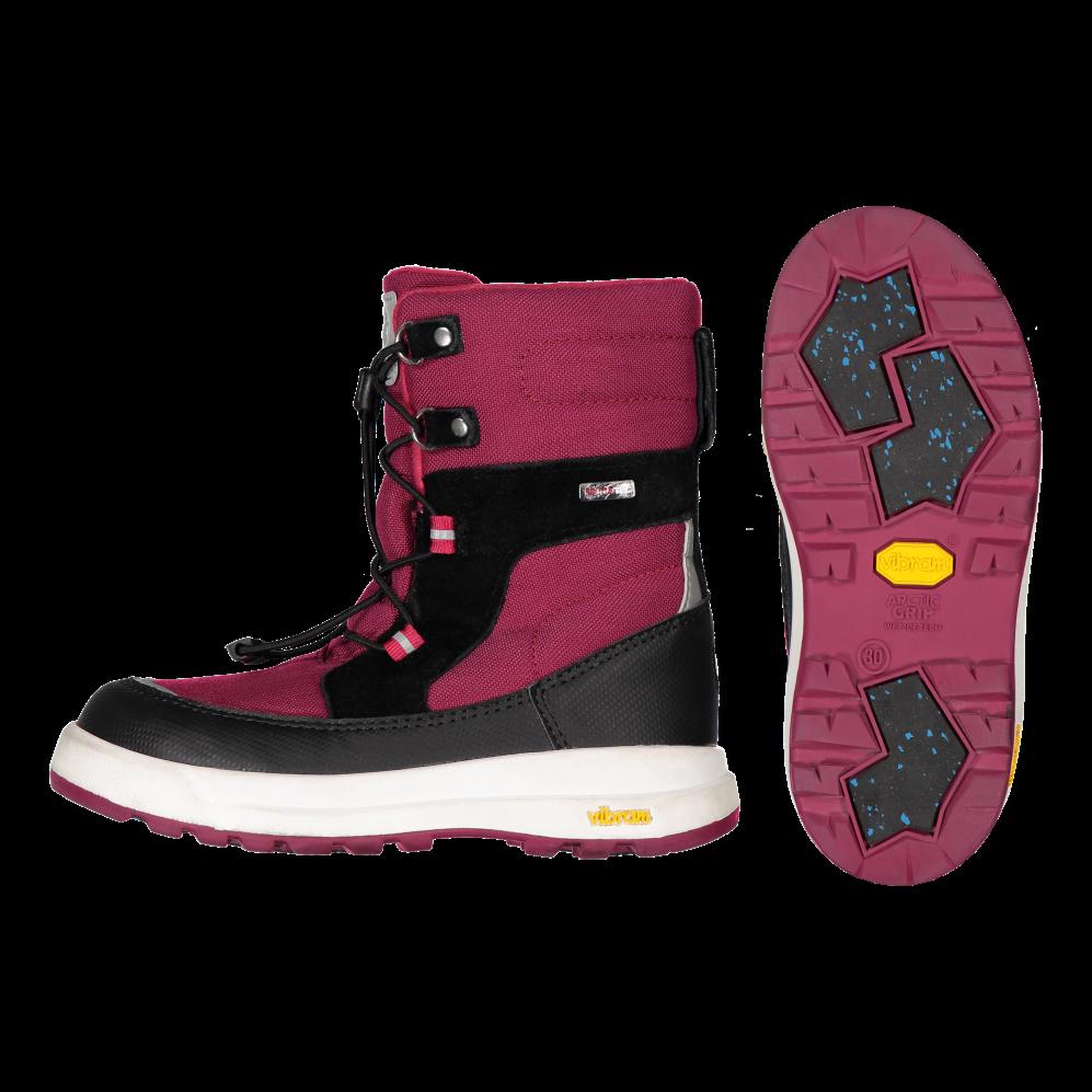 Waterproof 'Laplander' boots w. Vibram Arctic Grip soles