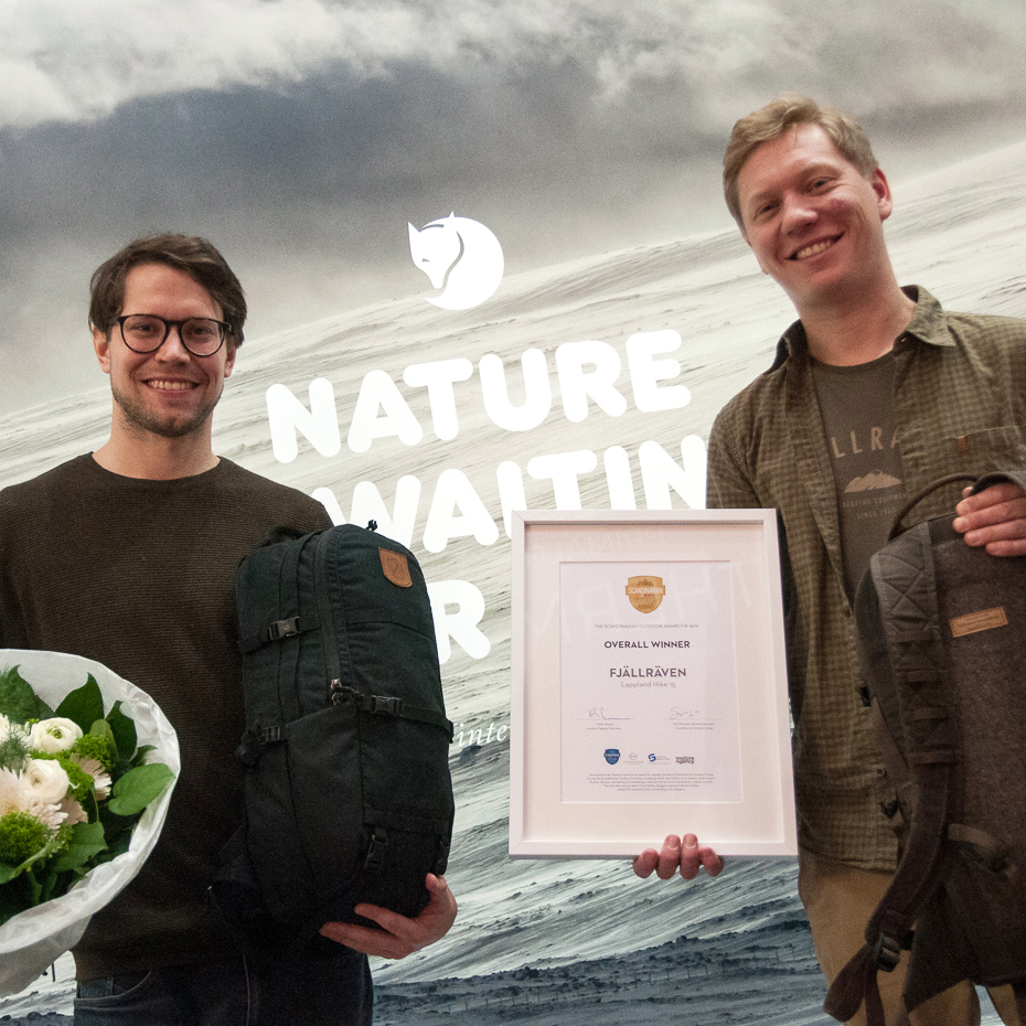 Winners of the Scandinavian Outdoor Award FW 1819