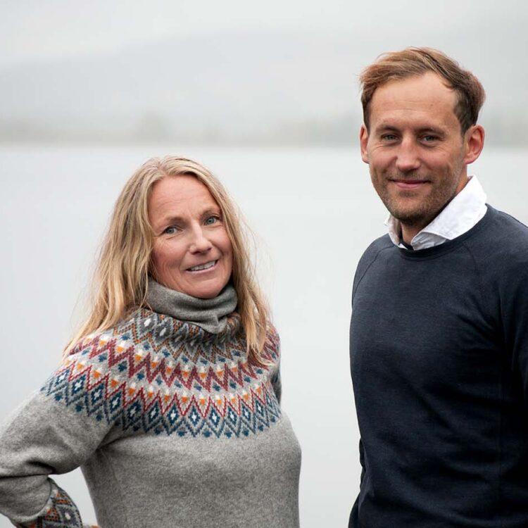 Sara Wänseth och David Nordblad Scandinavian Outdoor Group